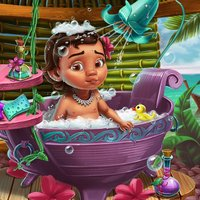 Mona Baby Bath - You can play without the Internet