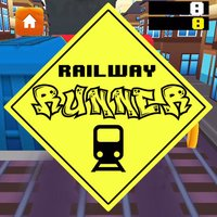 Railway Runner 8 bit