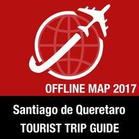 Santiago de Queretaro Tourist Guide + Offline Map