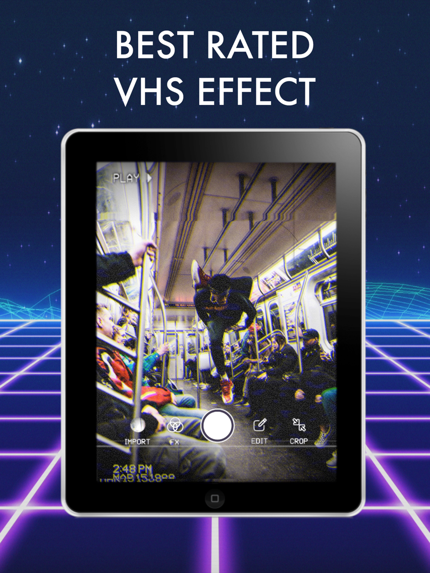 Rad Video Editor: VHS Cam Star App for iPhone - Free Download Rad