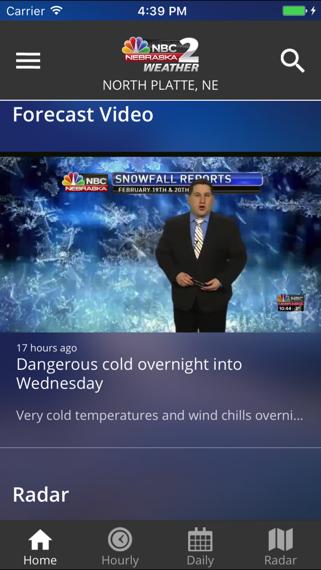 Nbc Weather App For Iphone