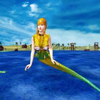 Hungry Mermaid Attack Simulator: Deadly Sea