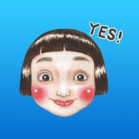 Yazmin The Lovely And Happy Girl English Stickers