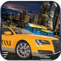 Sport Car Taxi Traffic