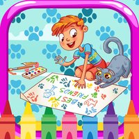 Cute Cat Coloring Book : color pages me