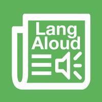 LangAloud - аудирование на англиийском: слушай, читай, переводи