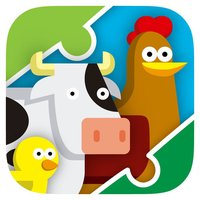 My first jigsaw Puzzles : Animals to the farm