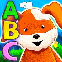 Letter-eating alphabet with funny animals! Free