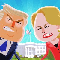 Candidate Crunch: Donald Trump vs Hillary Clinton vs Bernie - Funny Election Game