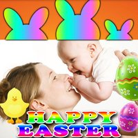 Happy Easter Picture Frames