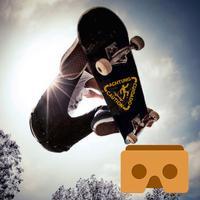 VR Skateboard - Ski with Google Cardboard