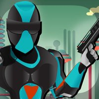 A Ninja Police Subway Shadow Battle FREE - City Train Future Cops Alien Pursuit