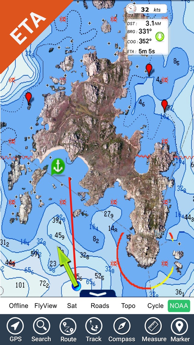 C Map Charts Free Download