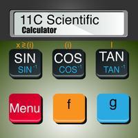 11C Scientific Calculator RPN