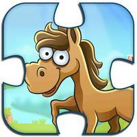 Farm Animal Puzzle Kids Game