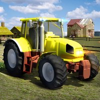 Euro Farm Tractor Driving game