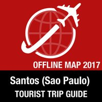 Santos (Sao Paulo) Tourist Guide + Offline Map