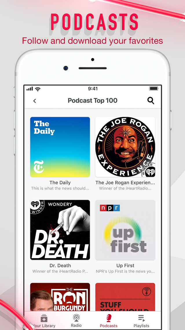 iHeartRadio - Radio & Podcasts App for iPhone - Free
