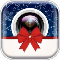 Christmas Photo Booth: Xmas Sticker Picture Editor