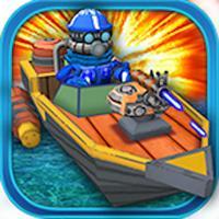 Ruthless Power Boat - Top Gun Shooting Game