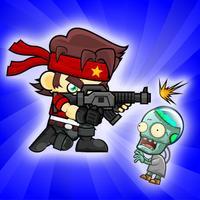 Zombie shooter gunship frontier world war