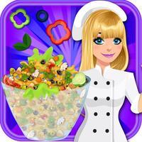 Macaroni Cooking Kitchen - Little Girls Chef Game