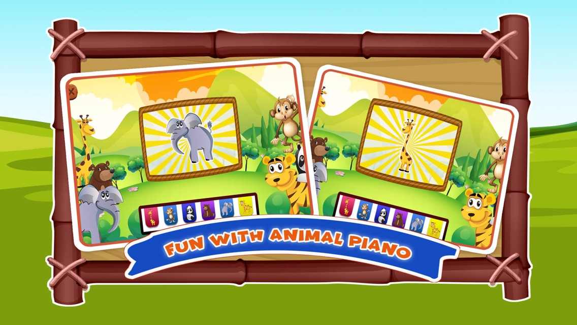 Zoo Animals Sounds Kids Games App for iPhone - Free Download