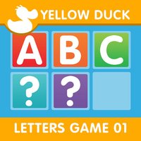 ABC Slider Puzzle Game (Alphabet game for first grade pupils)- The Yellow Duck Educational Game Series