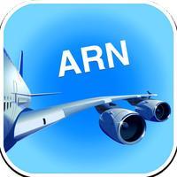 Stockholm-Arlanda ARN Airport. Flights, car rental, shuttle bus, taxi. Arrivals & Departures.