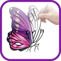 Artist Violet - How to draw Butterflies