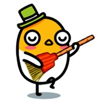 Funny Egg Baby Stickers