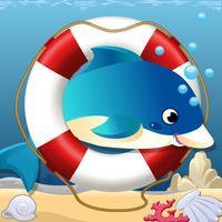 Tap Dolphin Sea Racing Dash