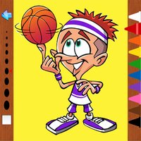 Play Sports Kids Coloring Books for Preschool and First Grade