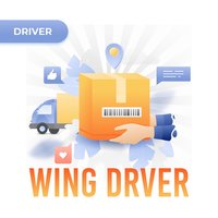 Wing Courier Driver