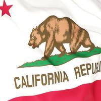 California Flag Stickers