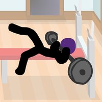Click Death Gym - Stickman Edition