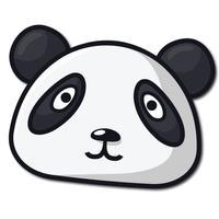 Bamboo Panda Stickers