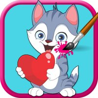 Animal Coloring Book- Free Educational Coloring Book Games For Kids & Toddler