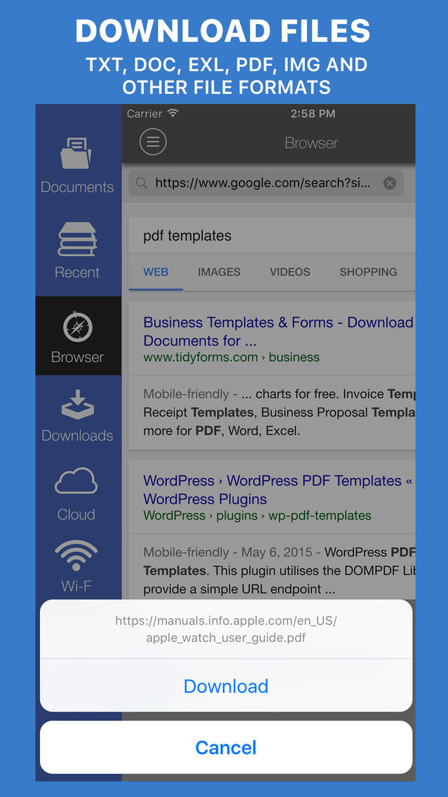 file browser free download for ipad