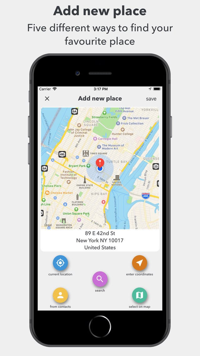 My Location App for iPhone - Free Download My Location for iPhone at
