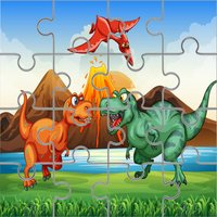 Dino Puzzle Jigsaw Dinosaur Games for Kid Toddlers