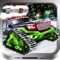 3D Snow Truck Road Race - Free Fastlane Chase Game