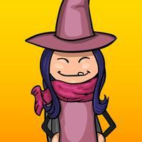 Courses de la petite sorcière