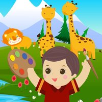 Coloring Animals in Zoo VIP
