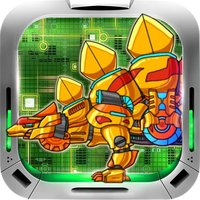 Dinosaur Transformers - Fighting Puzzle Games