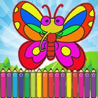 The Farm Animals Coloring for Kids Touch To Color