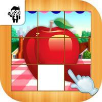 Fruit Slide Puzzle Kids Game