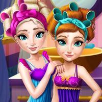 Beautiful sisters-fashion sweetheart sisters