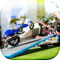 Bike: Transport Truck Driver - Parking Simulator