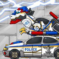 Combine! Dino Robot - T-rex Cops